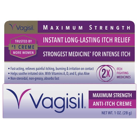Vagisil Maximum Strength Anti-Itch Crème - 1oz - image 1 of 4