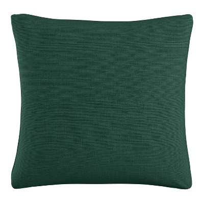 Green Solid Throw Pillow- Skyline Furniture