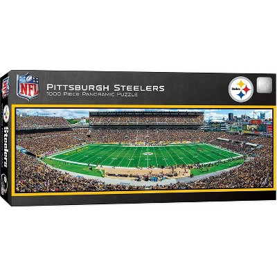 MasterPieces Inc Pittsburgh Steelers Stadium NFL 1000 Piece Panoramic Jigsaw Puzzle