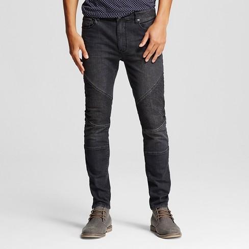 Men's Moto Jeans Black M - Jackson ™ - image 1 of 6