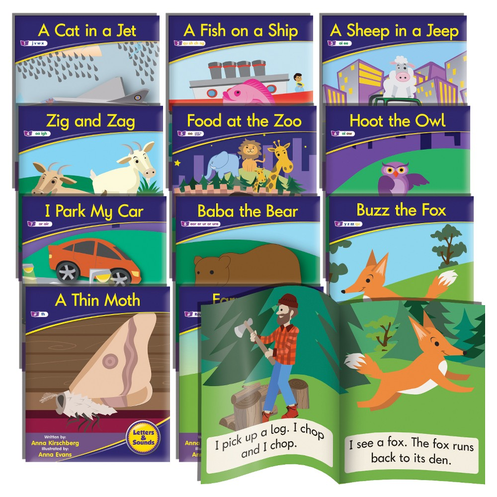 Image of Junior Learning Phonics Readers - Fiction Learning Set
