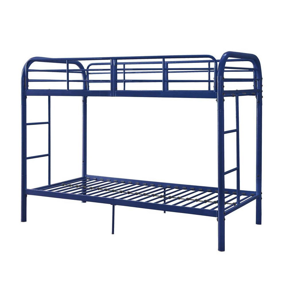 Twin Over Twin Thomas Bunk Bed Blue - Acme