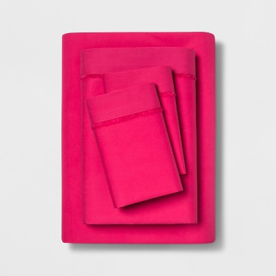 Solid Percale Cotton Sheet Set - Opalhouse™
