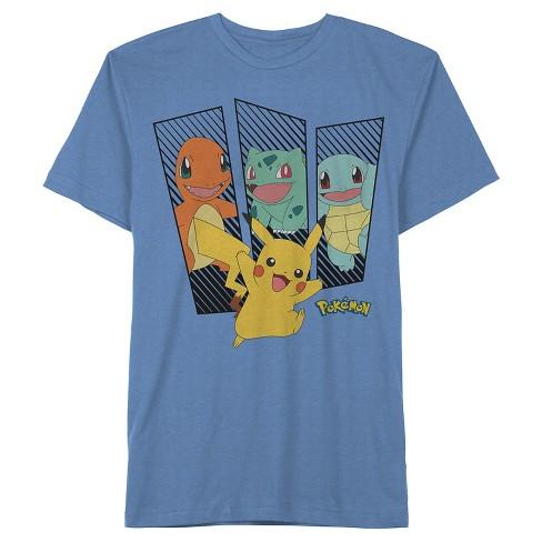 Boys' Pokmon Short Sleeve T-Shirt - Blue S - image 1 of 1
