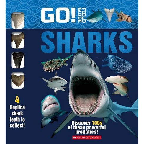 Go! Field Guide: Sharks - by  Scholastic (Hardcover) - image 1 of 1