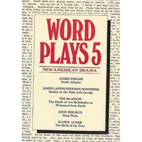 Wordplays Five - (Drama Contemporary S) by  James Strahs Et Al (Paperback) - image 1 of 1