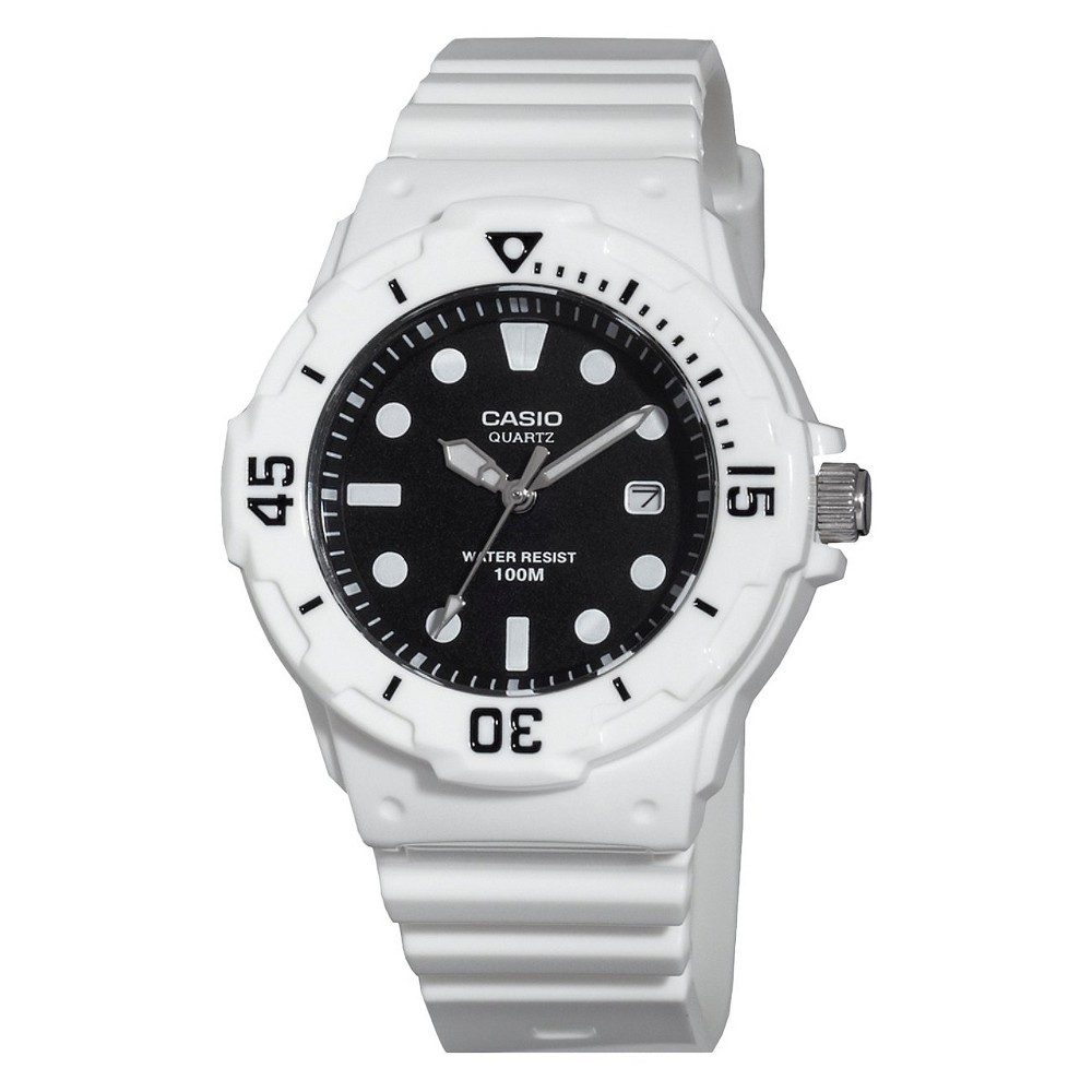 Women's Diver Watch White (LRW200H-1EVCF) - Casio