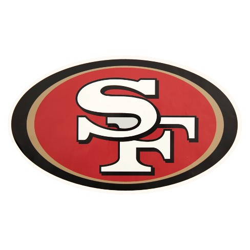 NFL San Francisco 49ers Large Outdoor Logo Decal - image 1 of 2