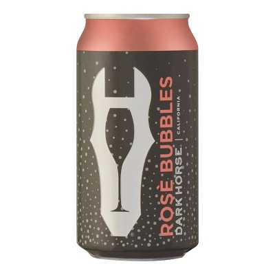 Dark Horse Rosé Bubbles Sparkling Wine - 375ml Can