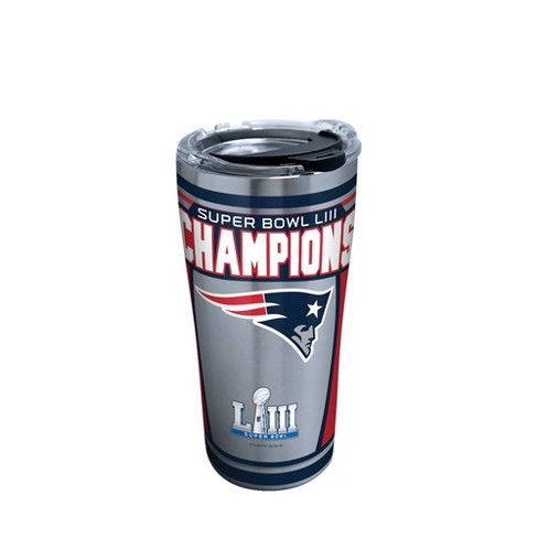 NFL New England Patriots Super Bowl LIII Champion 20oz Stainless Steel Tumbler - image 1 of 1