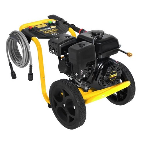 Stanley FATMAX 2 5 GPM 3400 PSI Gas Power Portable High Pressure Washer  Cleaner