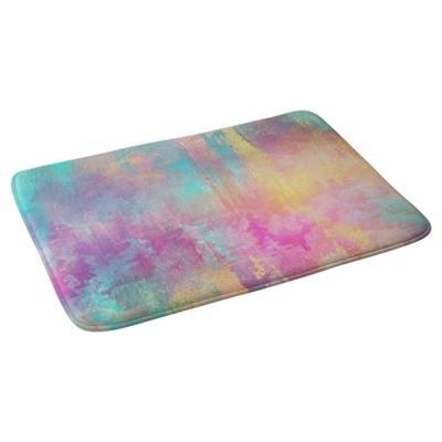 "Abstract Cloud Bath Mat (36""x24"") Purple - Deny Designs"