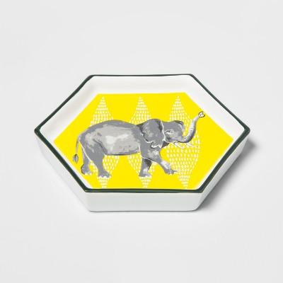 Hexagon Jewelry Storage Tray Elephant - Opalhouse™