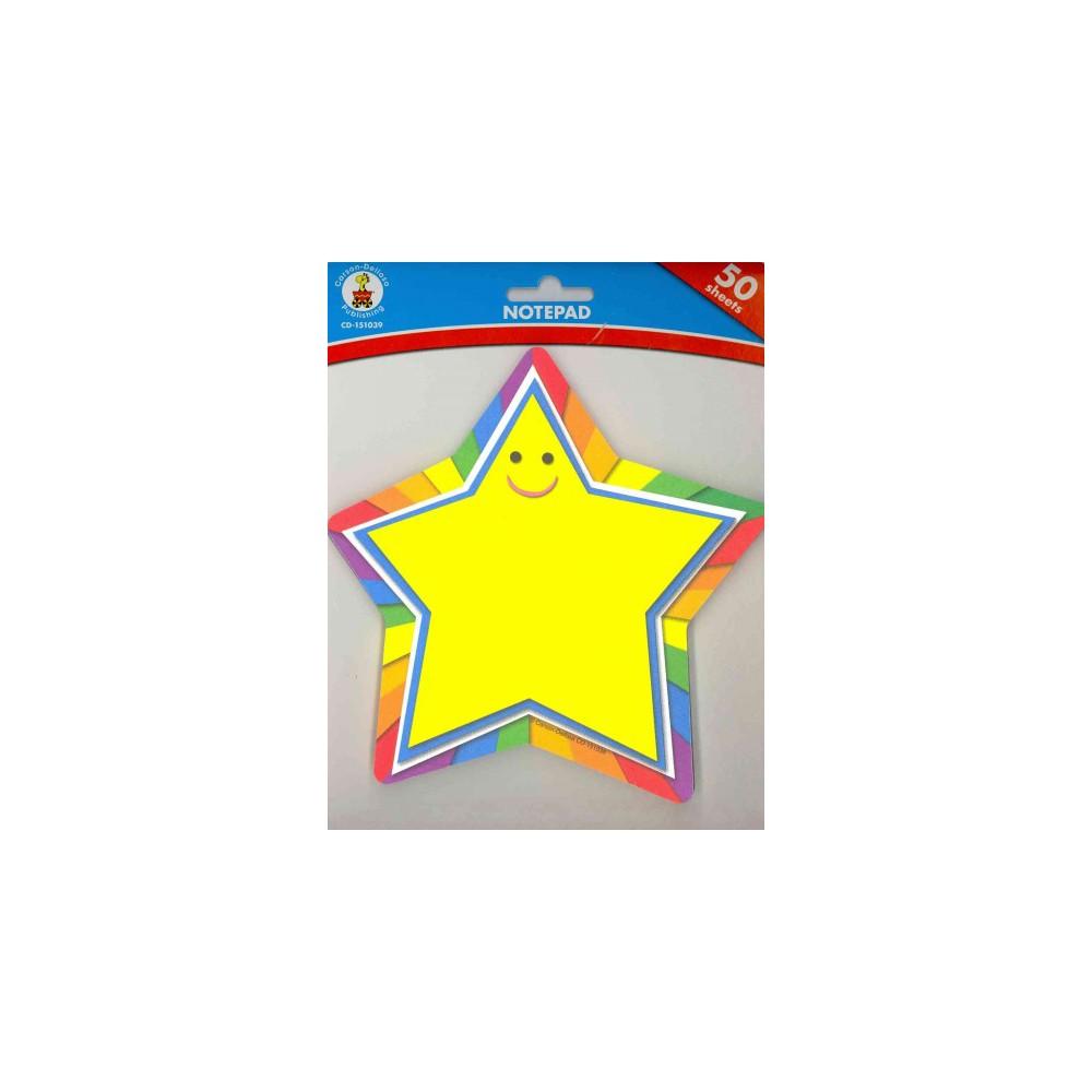 Star Notepad - (Paperback)