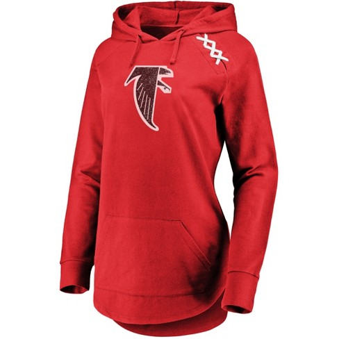 huge selection of a7610 63ff6 Atlanta Falcons Women's Leveraging Momentum Lightweight Hoodie S