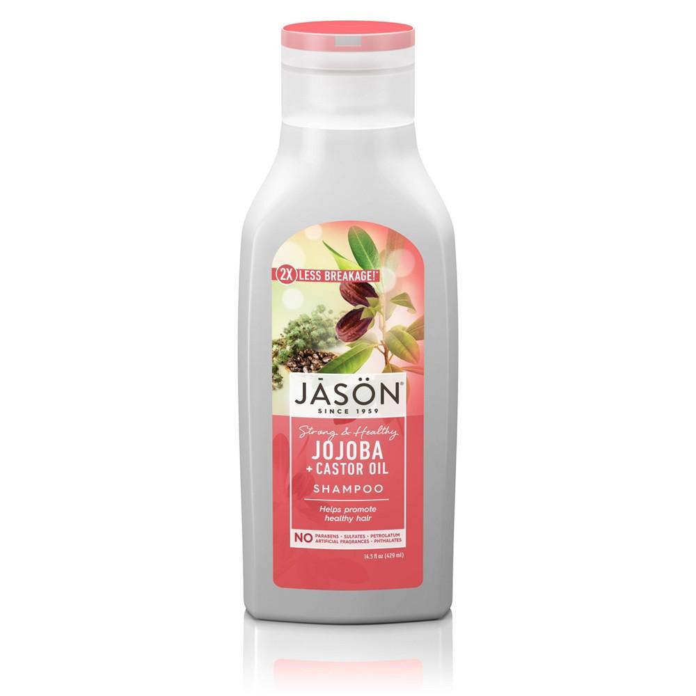 Image of Jason Long & Strong Jojoba For Healthy Hair Growth Shampoo - 16 fl oz