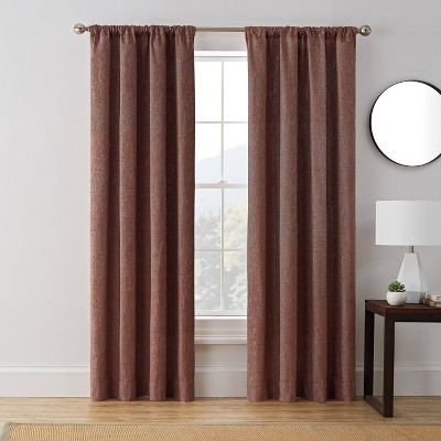 Troy Room Darkening Window Curtain Panel - Brookstone
