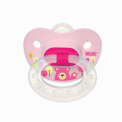 NUK 3pk Baby Pacifier Value Set - Pink