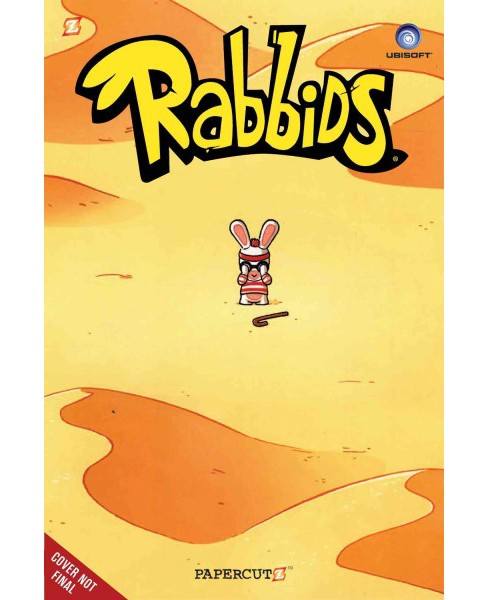Rabbids 3 -  (Rabbids) by Eric Esquivel (Paperback) - image 1 of 1