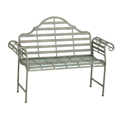 Cape Craftsmen Chippendale Style Outdoor Safe Metal Bench
