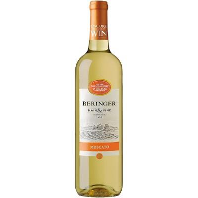 Beringer Moscato White Wine - 750ml Bottle
