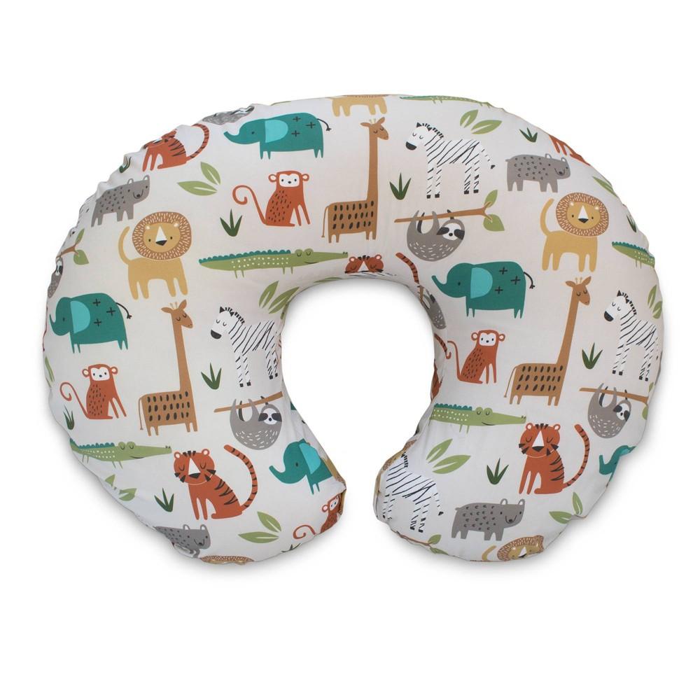 Image of Boppy Nursing Pillow Original - Neutral Jungle Colors