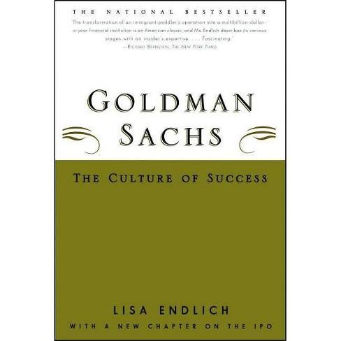 Goldman Sachs - by  Lisa Endlich (Paperback) - image 1 of 1