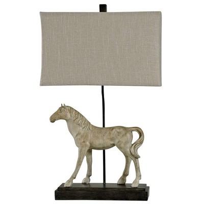 Dapple Table Lamp Gray - StyleCraft
