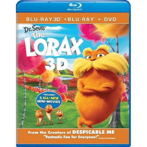 Dr. Seuss' The Lorax (3D + 2D) (Blu-ray + DVD + Digital) - image 1 of 1