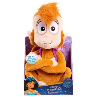 Disney Aladdin Chatterback Abu Stuffed Animal