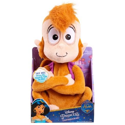 Disney Aladdin Chatterback Abu Stuffed Animal - image 1 of 3