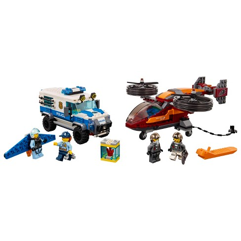 Lego City Sky Police Diamond Heist 60209 Target