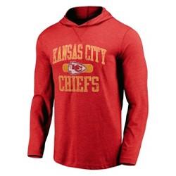 NFL Kansas City Chiefs Men's Block Arch Lightweight Hoodie