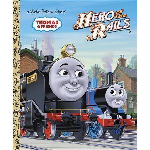 Hero of the Rails (Thomas & Friends) - (Little Golden Book) by  W Awdry (Hardcover) - image 1 of 1
