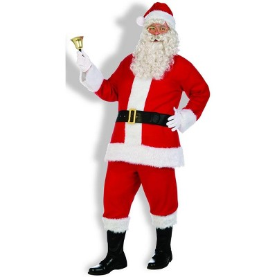 Santa Claus Costume Flannel Santa Suit