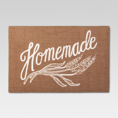 Kitchen Rug Homemade Brown (30 X46 )- Threshold™