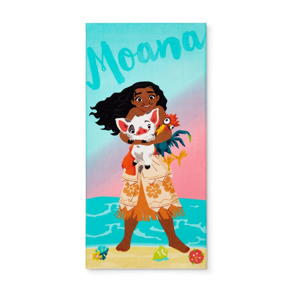 Image of Moana Hug Beach Towel, beach towels