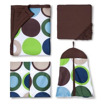Sweet Jojo Designs 11pc Designer Dot Crib Set