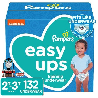 Pampers Easy Ups Boys' Training Pants Enormous Pack - 132ct