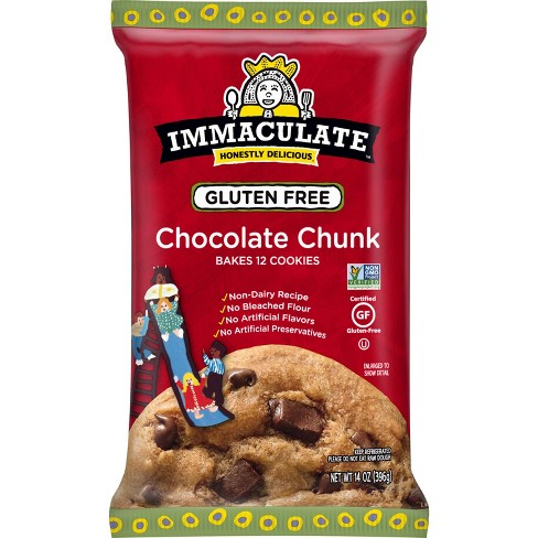 Immaculate Gluten Free Chocolate Chunk Cookie Dough - 14oz - image 1 of 3