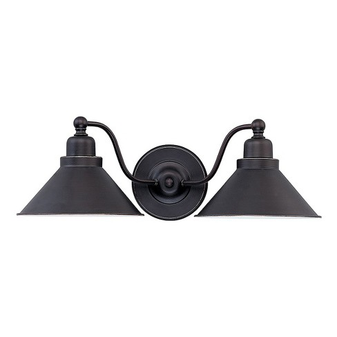 Wall Lights Sconce Mission Dust Bronze - Aurora Lighting - image 1 of 1