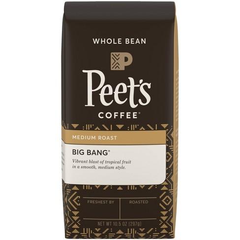 Peet's Big Bang Medium Roast Whole Bean Coffee - 10.5oz - image 1 of 4
