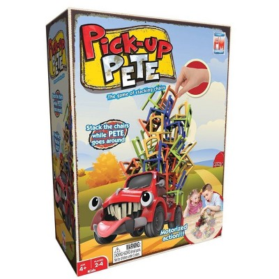 Pick Up Pete: The Self-Driving Chair Stacking Family Game