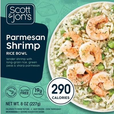 Scott & Jon's Creamy Parmesan Frozen Rice Bowl - 8oz
