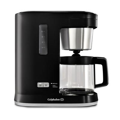 Calphalon Precision Control 10 Cup Coffee Maker - Matte Black