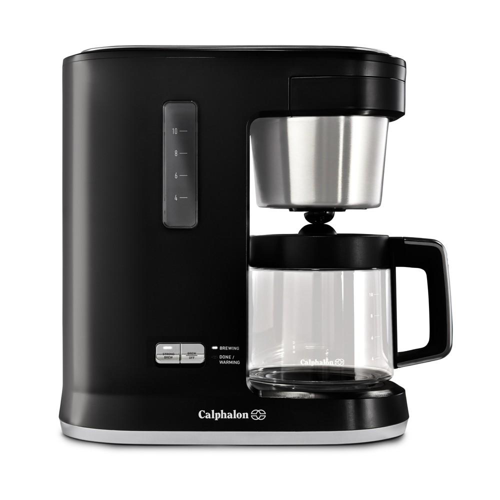 Calphalon Precision Control 10 Cup Coffee Maker – Matte Black 53501959