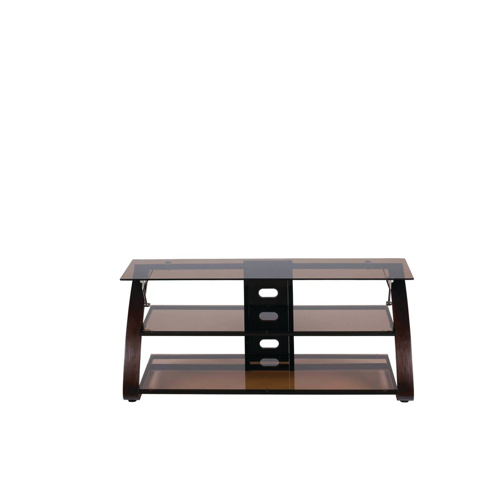 "Image of ""55"""" Knightly TV Stand Mocha Brown - Monroe + James"""