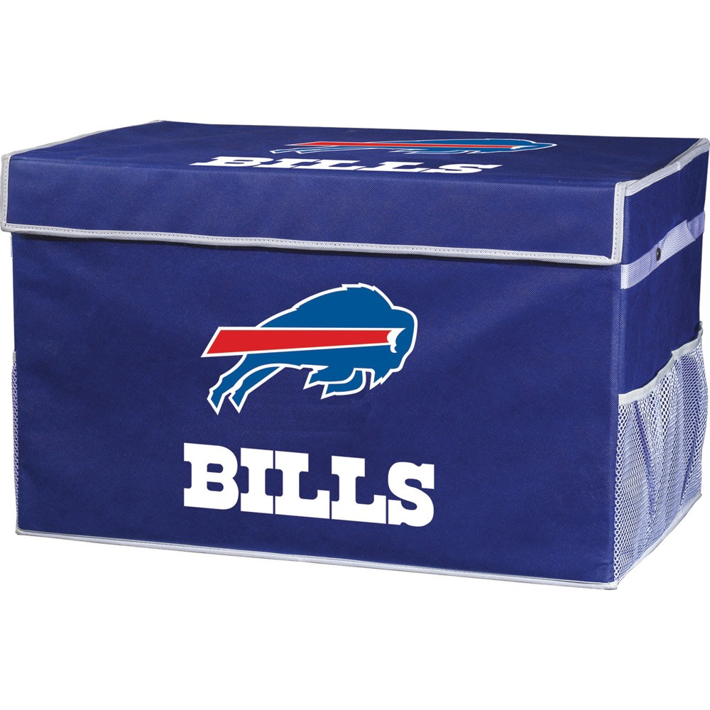 NFL Franklin Sports Buffalo Bills Collapsible Storage Footlocker Bins - Large, Multicolored