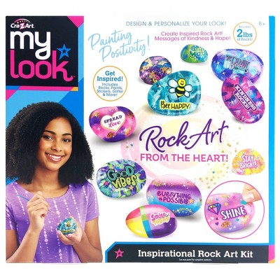 My Look Inspirational Rock Art Kit by Cra-Z-Art