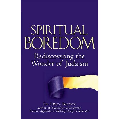 Spiritual Boredom - by  Erica Brown (Hardcover) - image 1 of 1